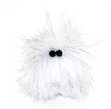 Hairball the fuzzy toy might look like something your cat couldn't keep down, but not to worry. It's not stinky or slimy, just fuzzy and cute.