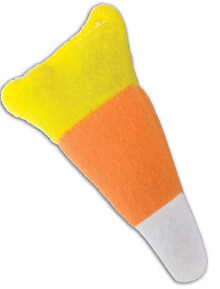 Candy Corn Catnip Toy