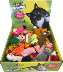 Adorable catnip toys.