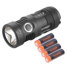 Bundle: Manker MK41 HI / HD  +  4x 14500 Batteries