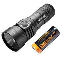 Manker U23 2000 Lumens CREE XHP35 HD LED Flashlight With Rechargeable 26650 Battery