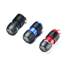 Manker TC02 Touch Control Keychain Light USB Rechargeable 150 Lumens CREE XPG3 LED Flashlight