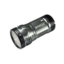 Manker MK36 12,000 Lumens 6x CREE XHP50.2 3V LED Flashlight