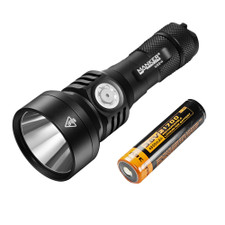 Bundle: Manker U22 II LED Flashlight + Manker 21700 Battery