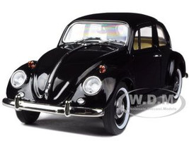 1967 Volkswagen Beetle Black Limited Edition 600pc 1/18 Diecast Model Road Signature 82078