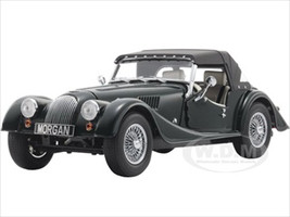 2008 Morgan 4/4 Sport Classic British Green with Tan Interior and Removable Black Top 1/18 Diecast Model Car Kyosho 08115