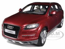 2009 Audi Q7 Garnet Red 1/18 Diecast Model Car Kyosho 09222