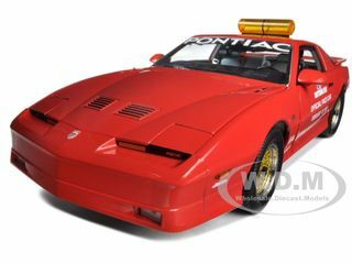 1987 Pontiac Firebird Trans Am GTA Daytona 500 Pace Car Nascar 1/18 Diecast Model Car Greenlight GL12858