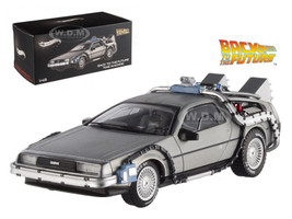 Delorean DMC-12 Back To The Future Time Machine Cult Classics 1/43 Diecast Model Car Hotwheels X5493