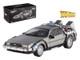 Delorean DMC-12 Back To The Future Time Machine Cult Classics 1/43 Diecast Model Car Hotwheels X5493
