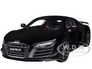 Audi R8 GT Phantom Black 1/18 Diecast Car Model Kyosho 09218