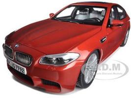 2012 BMW M5 (F10M) Sakhir Orange 1/18 Diecast Model Car Paragon Models 97013