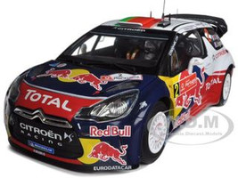 "Citroen DS3 #2 WRC Winner Rally Portugal 2011 Ogier/Ingrassia ""Red Bull"" 1/18 Diecast Model Car Norev 181556"