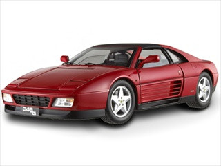 Ferrari 348 TS Elite Edition Red 1/18 Limited Edition Hotwheels X5480