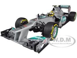 2012 Mercedes AMG Petronas F1 Team W03 Nico Rosberg 1/18 Diecast Model Car Minichamps 110120008
