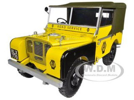 """1948 Land Rover Yellow """"AA Road Service"""" 1/18 Diecast Car Model Minichamps 150168901"""