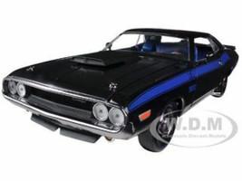 1970 Dodge Challenger T/A 340 Six Pack Black 75th Mopar Anniversary 1/24 Diecast Model Car M2 Machines 40300-36B-01