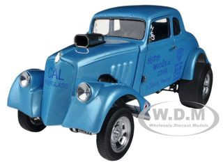 1933 Willys Gasser Stone Woods & Cook 1/18 Diecast Car Model Precision Miniatures PRM06