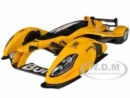 Red Bull X2010 Orange 1/18 Diecast Car Model Autoart 18106