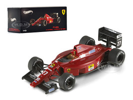 Ferrari F1-89 #27 Nigel Mansell Hungary GP 1989 Elite Edition 1/43 Diecast Model Car Hotwheels X5517