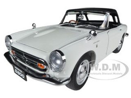 1966 Honda S800 Roadster White 1/18 Diecast Car Model Autoart 73278