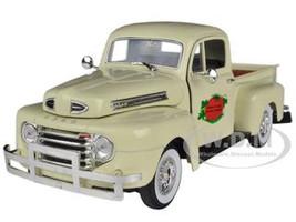 1949 Ford F-1 Tomato Delivery Truck Cream 1/32 Diecast Model Car Signature Models 32388