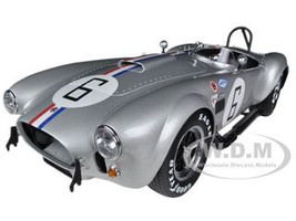 Shelby Cobra 427 S/C #6 SIlver 1/12 Diecast Car Model Kyosho 08632