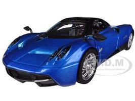 Pagani Huayra Blue 1/24 Diecast Car Model Motormax 79312