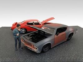 Mechanic Pete Figurine for 1/24 Scale Models American Diorama 77728