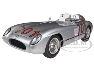 1955 Mercedes 300 SLR Mille Miglia #701 Karl Kling Limited to 2000pc 1/18 Diecast Model Car CMC 118