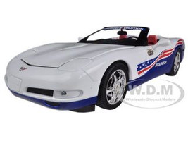 2004 Chevrolet Corvette Indy Pace Car 1/18 Diecast Model Car Autoworld AW204
