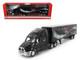 Coca Cola Zero Tractor Trailer 1/64 Diecast Model Motorcity Classics MCC434617