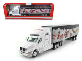 Coca Cola On Ice Tractor Trailer 1/64 Diecast Model Motorcity Classics MCC434618