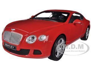 2011 Bentley Continental GT Red 1/18 Diecast Car Model Minichamps 100139922