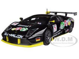 Lamborghini Murcielago FIA GT #7 Black 1/24 Diecast Car Model Bburago 28001