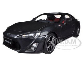 "Toyota 86 GT ""Limited"" Asian Version RHD Grey Metallic 1/18 Diecast Car Model Autoart 78772"