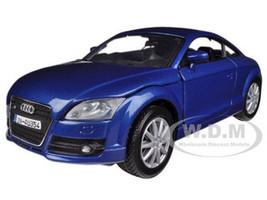 2007 Audi TT Coupe Blue 1/24 Diecast Car Model Motormax 73340