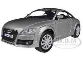 2007 Audi TT Coupe Grey 1/24 Diecast Car Model Motormax 73340