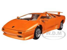 Lamborghini Diablo Orange 1/24 Diecast Car Model Bburago 22086