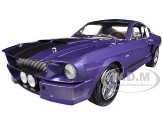 1967 Ford Shelby Mustang GT500 Purple 1/18 Diecast Car Model Shelby Collectibles 197