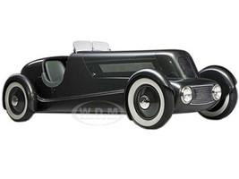1934 Ford Edsel Roadster Model 40 Special Speedster Pearl Essence Gun Metallic Dark Grey 1/18 Model Car Minichamps 107082080