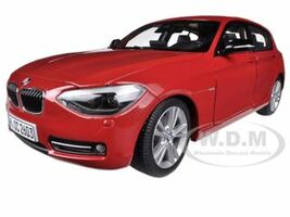 BMW F20 1 Series Red 1/18 Diecast Car Model Paragon 97004