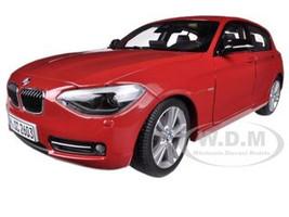 BMW F20 1 Series Red 1/18 Diecast Car Model Paragon 97004