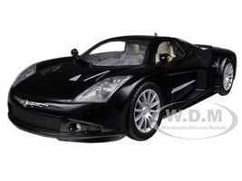 Chrysler Me Four Twelve Black 1/24 Diecast Car Model Motormax 73277