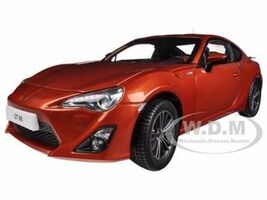 2013 Toyota 86 GT Left Hand Drive Orange Metallic 1/18 Diecast Model Car Century Dragon 1002 C
