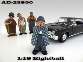 Eightball Homies Figurine for 1/18 Scale Models American Diorama 23850