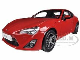 2013 Toyota 86 GT Left Hand Drive Lightning Red 1/18 Diecast Car Model Century Dragon 1002 B