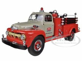 1951 Ford F-Series Pumper Tractor Plant Protection 1/34 Diecast Model First Gear 19-3980