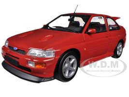 1992 Ford Escort RS Cosworth Red 1/18 Diecast Car Model Minichamps 150089021