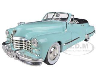 1947 Cadillac Series 62 Light Blue Convertible 1/32 Diecast Car Model Signature Models 32349